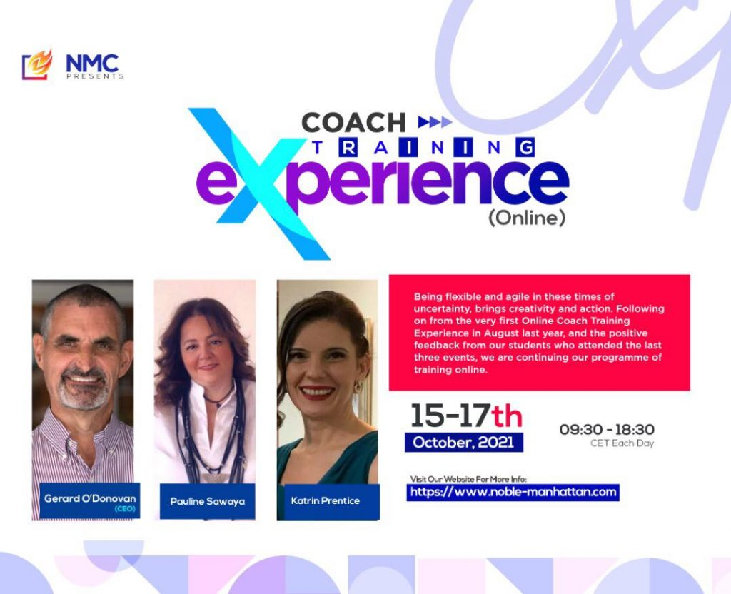 The Online Coaching Experience 2021